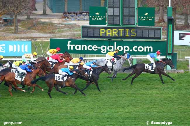 Not to be outdone, Gorki Park winning the Prix Crécy Saint James one hour later. (ScoopDyga)